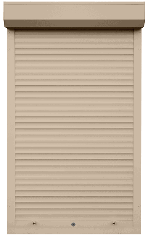 King Shutters & Screens - Beige Aluminium Roller Shutters Color
