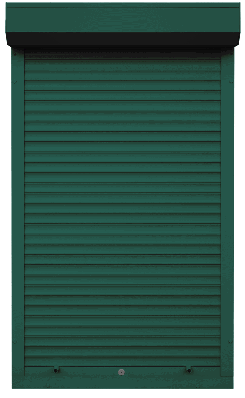 King Shutters & Screens - Green Aluminium Roller Shutters Supply and Installation across Melbourne, VIC