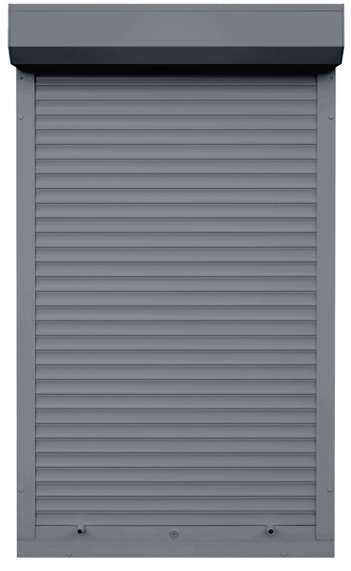 King Shutters & Screens - Grey Aluminium Roller Shutters Color
