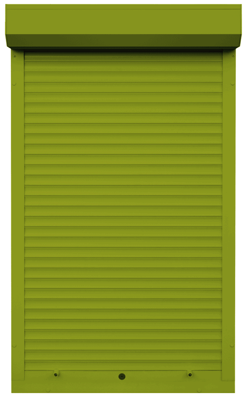 King Shutters & Screens - Olive Green Aluminium Roller Shutters Color