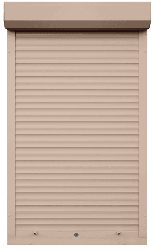 King Shutters & Screens - Sand Aluminium Roller Shutters Color