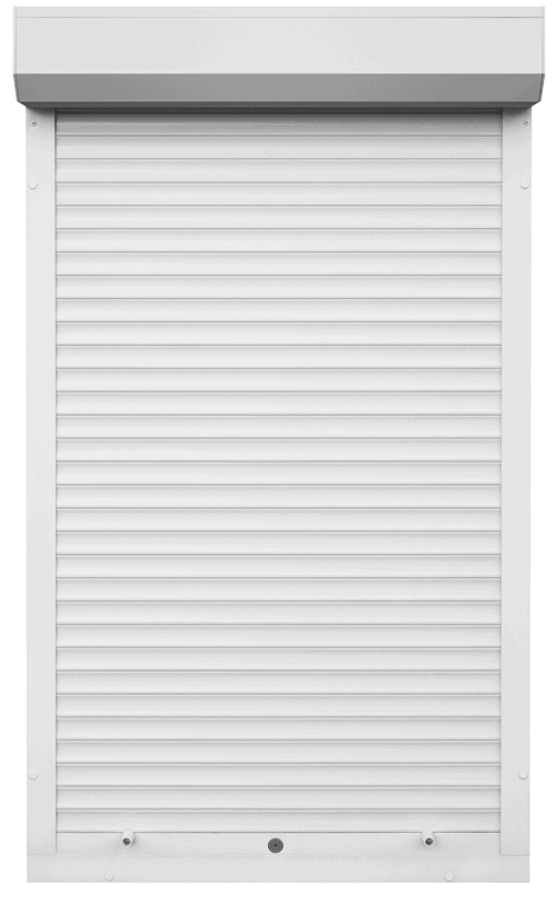 King Shutters & Screens - White Aluminium Roller Shutters Color