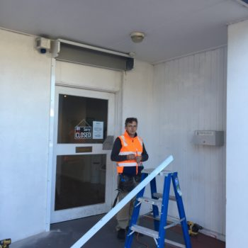Roller Shutter Repairs Job in Melbourne by King Shutters & Screens