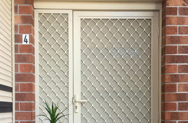 Security Door Instllations in Melbourne by King Shutters and Screens