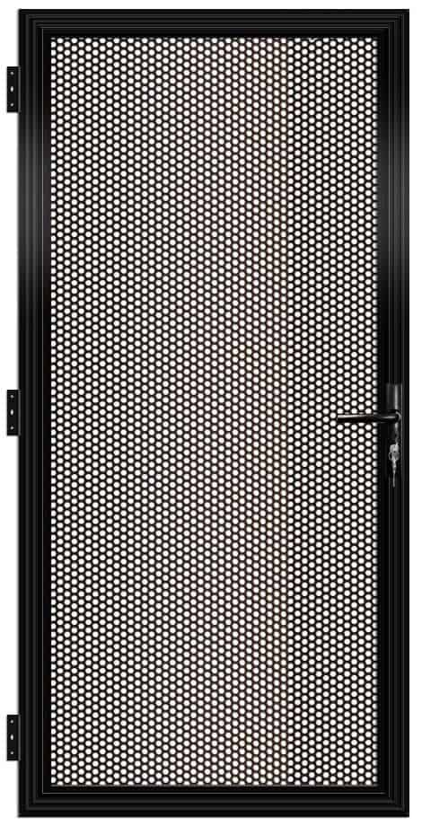 Perforated Alumesh Security Door