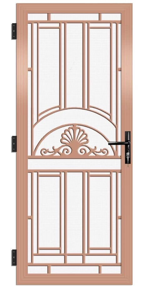 SP14AB Colonial Cast Aluminium Security Door