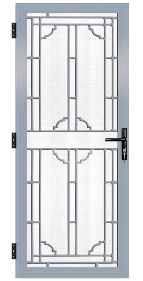 SP27AB Colonial Cast Aluminium Security Door