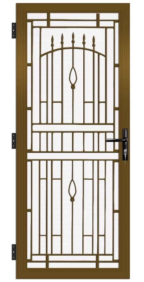 SP29AB Colonial Cast Aluminium Security Door