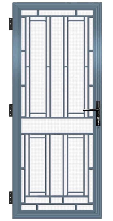 SP34AB Colonial Cast Aluminium Security Door